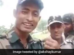 वीर जवानों ने शेयर किया रोंगटे खड़े कर देने वाला मैसेज, वीडियो देख अक्षय कुमार ने भी किया सैल्यूट