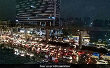 Waterlogging, Jams In Mumbai After Very Heavy Rain; Flights Delayed