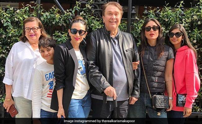 Inside Kareena And Karisma Kapoor?s Fam-Jam With Randhir And Babita Kapoor