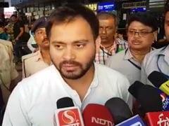 तेजस्वी यादव का मुख्यमंत्री नीतीश कुमार पर हमला, जल जमाव के मुद्दे पर उठाए कई सवाल