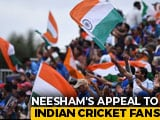 Video : World Cup 2019: Indian Fans To Turn Lord's Into A Sea Of Blue