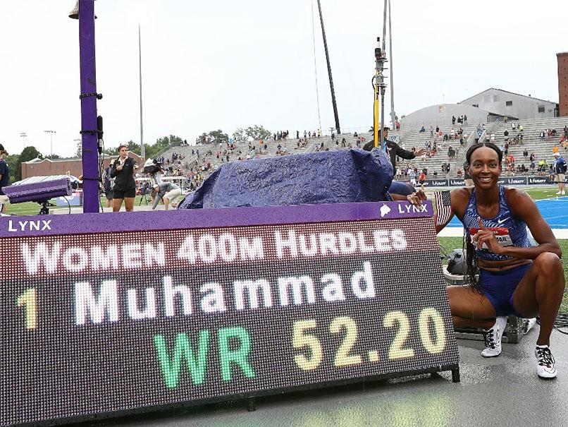 Dalilah Muhammad Shatters Womens 400m Hurdles World Record