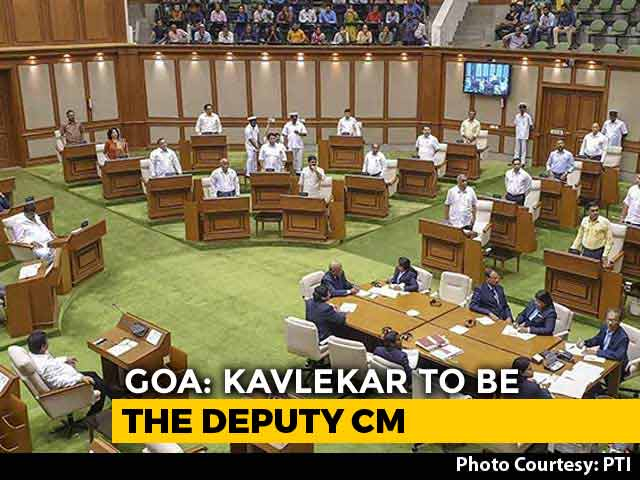 Video : 3 Goa Congress Lawmakers Who Switched To BJP Will Be Made Ministers Today