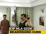 Video : Guns As Props As Suspended BJP Lawmaker Dances At House Party In Video