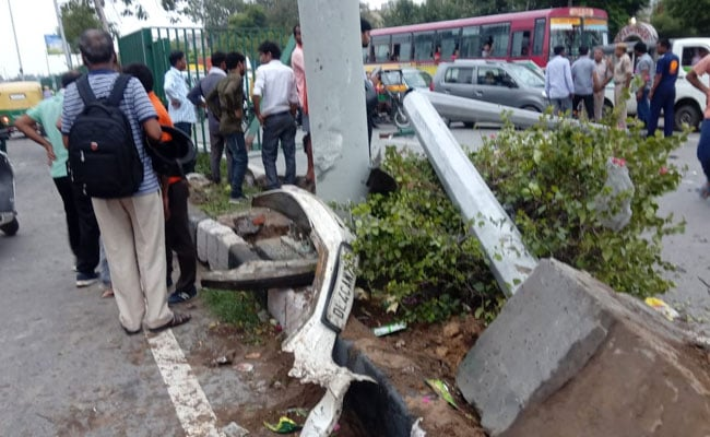 Driver Of Car That Crashed In Delhi, Killing 2, Was Not Drunk: Police