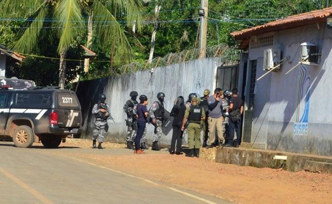 ब्राजील: जेल में दो गुटों में खूनी संघर्ष, 16 के धड़ काटे तो कमरे में आग लगाकर 41 की हत्या