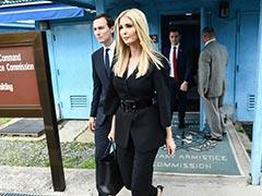 """Ivanka Trump Enters North Korea With Father, Calls Short Walk """"Surreal"""""""