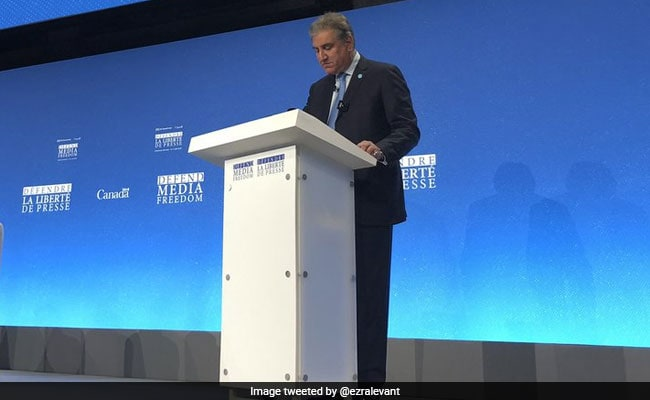 Watch: Pak Foreign Minister Heckled In London Over Lack Of Media Freedom