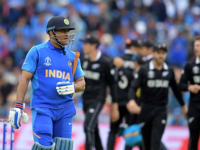 """MS Dhoni Coming In At No. 5 Wouldve Made A Difference"": Sachin Tendulkar After Indias World Cup Exit"