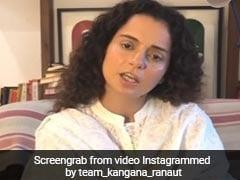 कंगना रनौत ने शेयर किया वीडियो, बोलीं- चाहती हूं मुझे बैन करो...