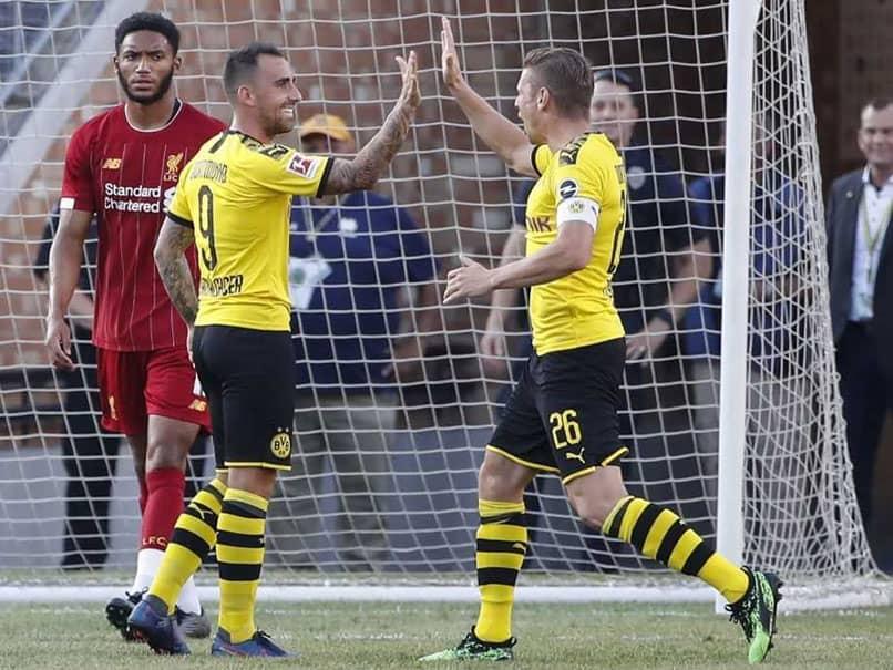 Borussia Dortmund Sink Liverpool In US Tour Opener