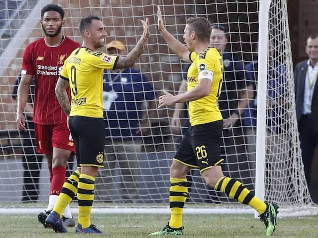 Borussia Dortmund Sink Liverpool In US Tour Opener