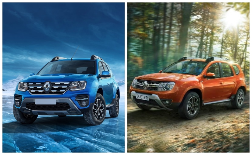 The new Renault Duster Facelift borrows styling cues from the Dacia Duster.