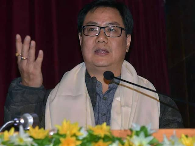 Long-Term Preparation Needed For Medals, Says Kiren Rijiju