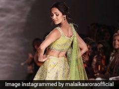 मलाइका अरोड़ा ने रैंप पर बिखेरा जादू, ग्रीन लहंगे में दुल्हन की तरह आईं नजर- देखें Video