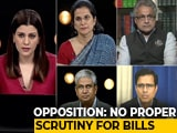Video : BJP Majority, Bills Pushed: Good For Democracy?