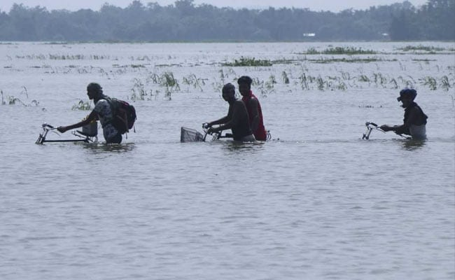 12 More Dead In Assam Floods, 1.3 Lakh Still In Relief Camps