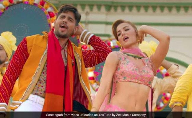 Jabariya Jodi Song Zilla Hilela: Siddharth Malhotra And Elli AvrRam Flirt In Desi Style