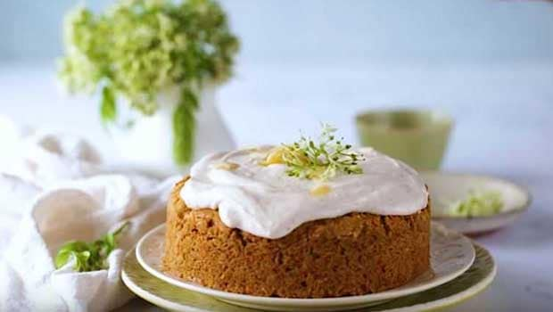 Watch: Delight Your Taste Buds With This Eggless Carrot Cake Recipe