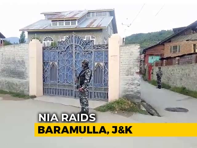 Video : Anti-Terror Agency Raids 4 Places In J&K Over Cross-Border Terror Funding