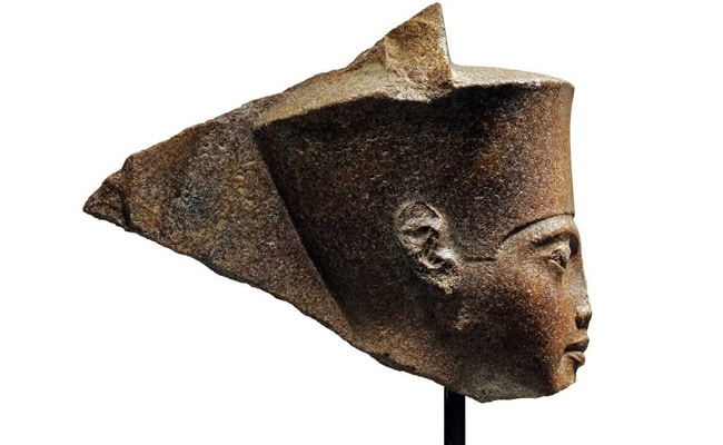 Bust of Tutankhamun sold at auction for £4.7m despite Egypt protests
