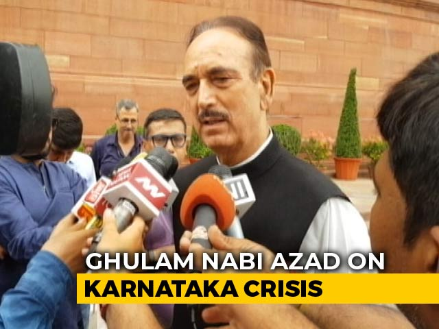 """Video : """"BJP Appoints Chief Ministers In Bars"""": Congress On Karnataka Mess"""