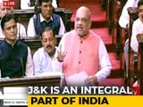 "Video : ""<i>Insaniyat</i>, <i>Jamhooriyat</i>, <i>Kashmiriyat</i>"": Amit Shah's Big Push For J&K Bill"