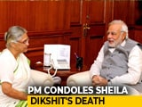 Video : Deeply Saddended By The Demise Of Sheila Dikshit: PM Modi