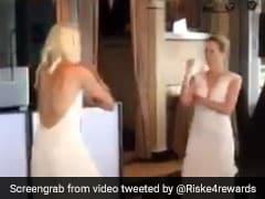 अमेरिकी टेनिस स्टार एलिसन रिस्के ने बॉलीवुड सांग पर किया डांस तो सानिया मिर्जा ने यूं दिया रिएक्शन, VIDEO