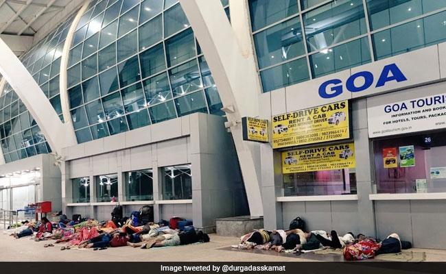 Railway Station-Like Scene At Goa Airport Upsets Authorities, Netizens