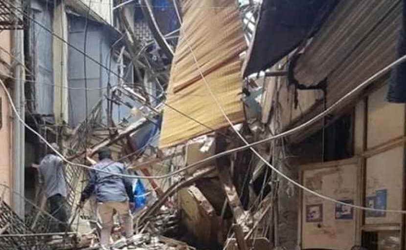 Mumbai building collapse: Toddler wrapped in cloth rescued