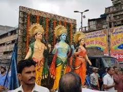 Temple Statues Reinstalled In Delhi's Hauz Qazi Days After Communal Clash