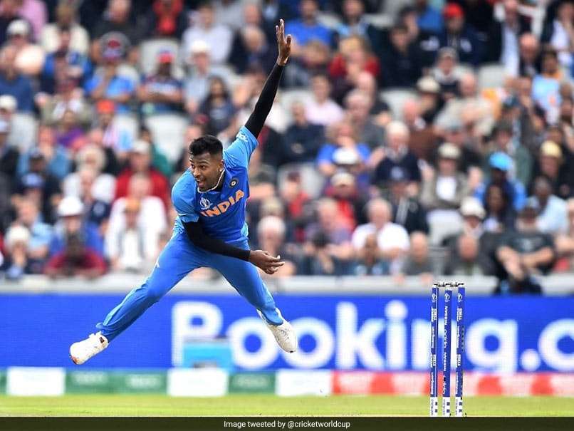 hardik pandya in india vs new zealand world cup match
