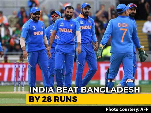 India Qualify For World Cup Semis After Beating Bangladesh By 28 Runs