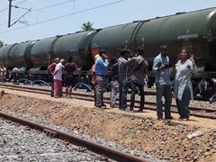 First 50-Wagon Train Carrying Water For Chennai Arrives In Parched City