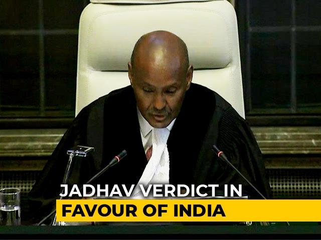 Video : Pak Must Review Kulbhushan Jadhav's Death Sentence, Says World Court ICJ