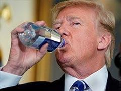 """Bigger Problems"" Than Plastic Straws, Says Donald Trump"