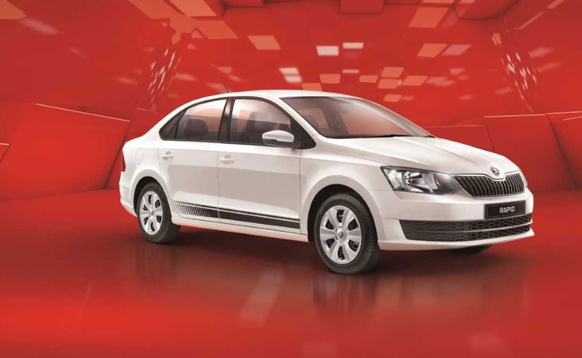 The Skoda Rapid Rider edition is offered only with the 1.6-litre petrol engine