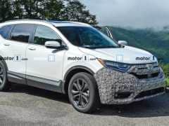 2020 Honda CR-V Facelift Spotted Testing For The First Time
