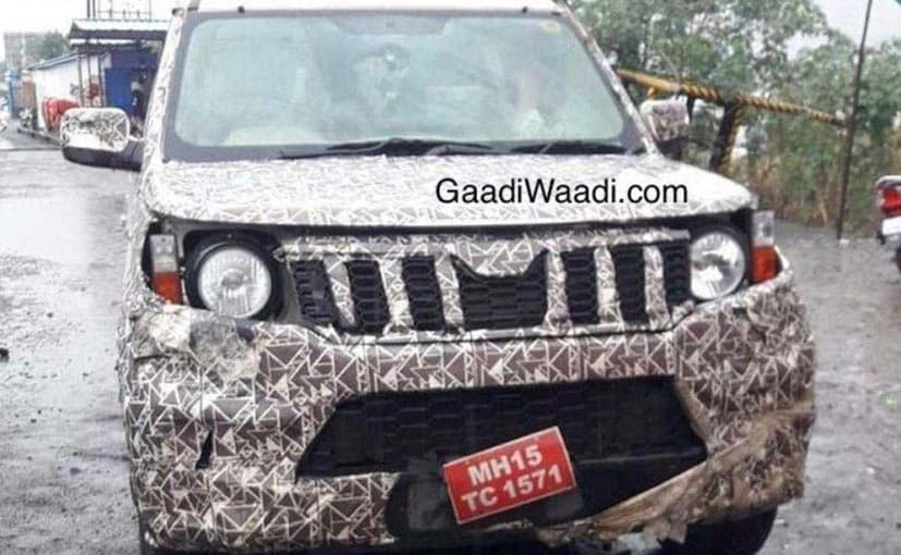 The 2020 Mahindra TUV300 retains the boxy silhouette of the current model.