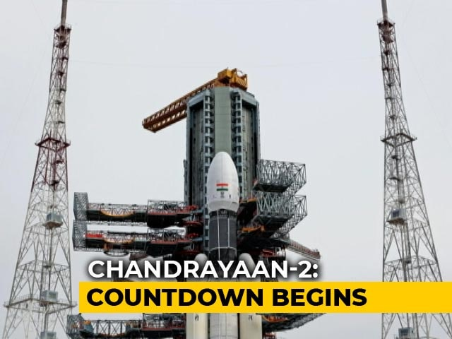 Video : ISRO's Second Launch Attempt For Chandrayaan-2 At 2:43 pm Today