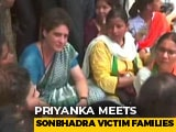 Video : Priyanka Gandhi, In Detention, Meets Families Of UP Shootout Victims