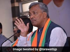 Uttarakhand Forest Fire Pictures False: Trivendra Singh Rawat