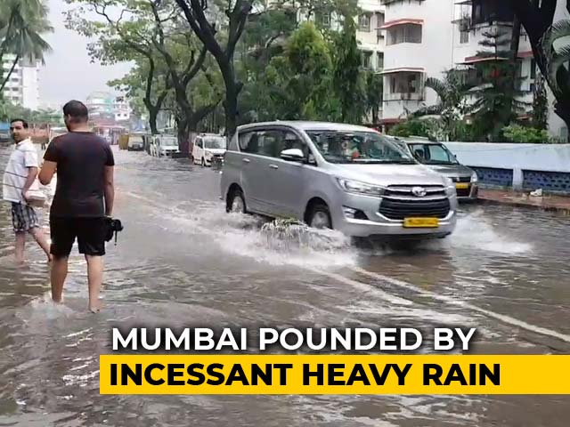 Video : Heaviest Rain In A Day Since 2005 Brings Mumbai To A Standstill