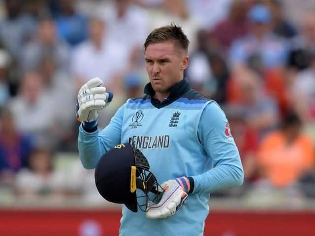 World Cup 2019: Englands Jason Roy fined for dissenting on umpires decision