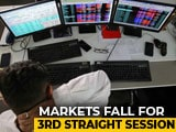 Video : Sensex, Nifty Fall For Third Straight Day As Banks, Financials Drag