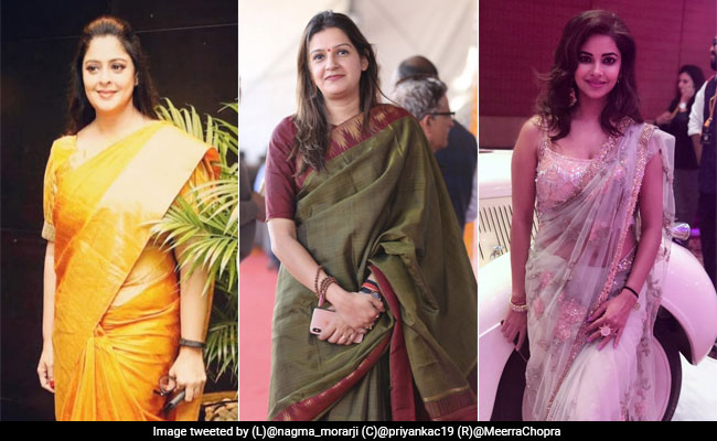 Women Are Sharing Their Favourite Pics For #SareeTwitter