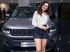 Actor Taapsee Pannu Gifts Sister Shagun The Jeep Compass