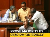 "Video : ""Lost Majority"": Governor Deadline To Karnataka Coalition For Trust Vote"