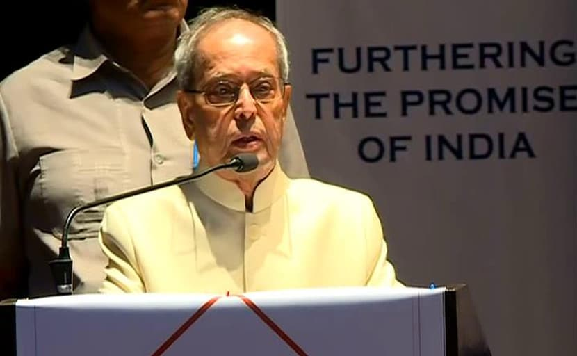 Must Carry Along Those Who Didn't Vote For The Winner: Pranab Mukherjee